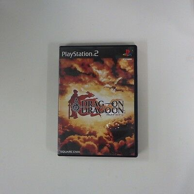 DRAG ON DRAGOON PS2 PlayStation 2 JP GAME/s38