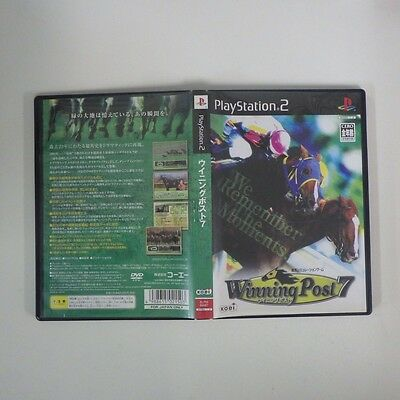 Winning Post7 PS2 PlayStation 2 JP GAME/s38