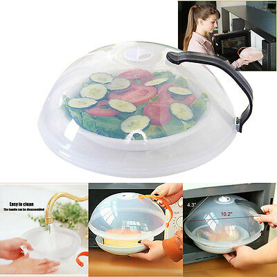 New Sale Food Multifunction Splatter Guard Microwave Hover Anti-Sputtering Cover