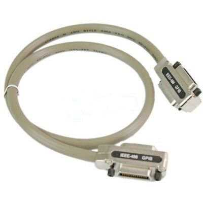 3Ft Adapter IEEE-488 GPIB to IEEE-488 GPIB Interface100cm Cable Metal Connector