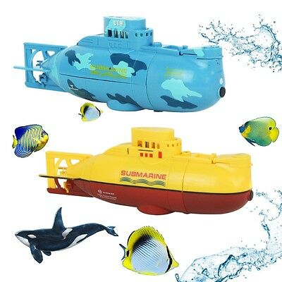 New Mini RC Mini Submarine Speedboat Model Toy High Powered With Remote Control