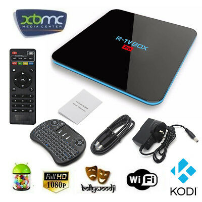 Media Player Streamers 2017 4K HD Quad Core Android 6.0 Smart TV Box Fully Load