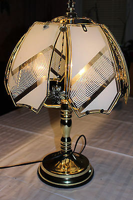 Messing Stehlampe