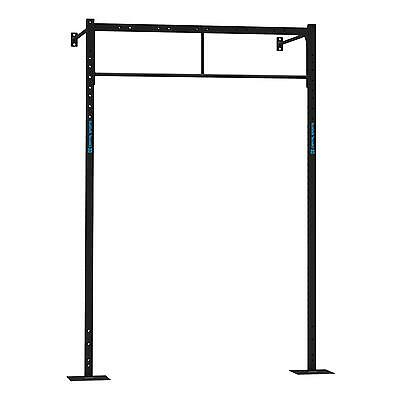 Juego Barras Plataforma Pared Mural Estacion Soporte Gimnasio Pull Up Dominadas