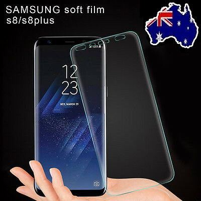 2PCS Galaxy S8 S8 Plus Flex Full Coverage Soft TPU Screen Protector for Samsung
