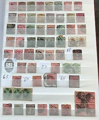 South Africa - collection of many first Post-Marks with numbers - high value