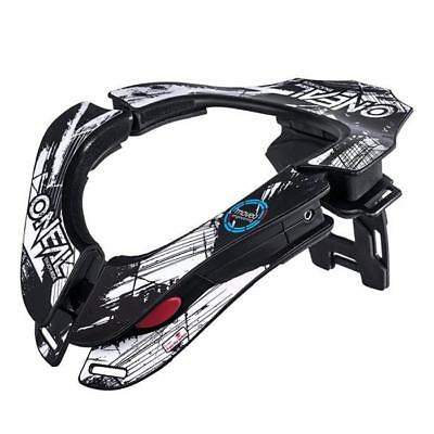 ONEAL 2018 TRON NECKBRACE SHOCKER - schwarz - weiß Motocross Enduro MX Cross