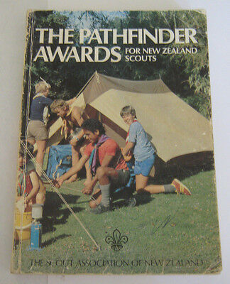 New Zealand Scouts The Pathfinder Awards October 1989 Reprint
