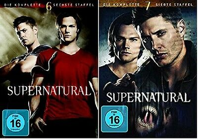 Supernatural Staffel 6+7 DVD Set NEU OVP