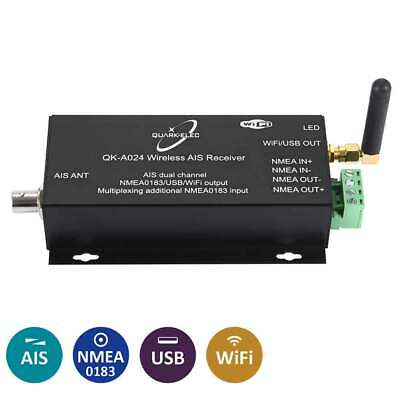 Quark QK-A024 Wireless AIS Receiver With NMEA 0183 Multiplexor