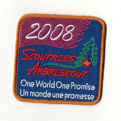 Scoutrees/Trees for Canada Scouts Canada 2008