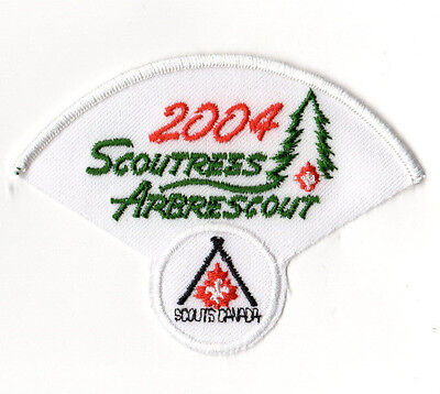 Scoutrees/Trees for Canada Scouts Canada 2004