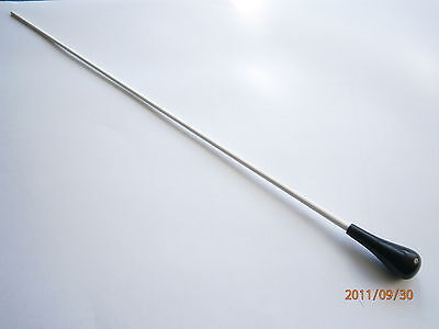 """15"""" Conductors Baton With Pear Shaped Rubber Handle"""