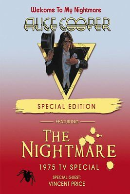 Alice Cooper - Welcome To My Nightmare Special Edition (NEW DVD)