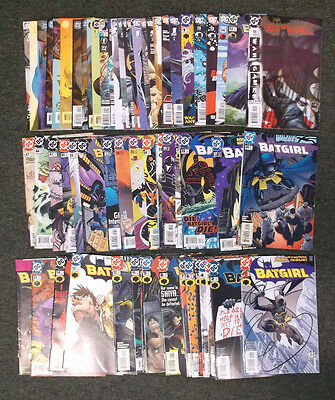 DC Collection Batgirl Comic Book Lot of 63 Total Issues Mostly NM+