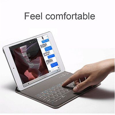 PU Leather Wireless Bluetooth Keyboard For iPad AIR/AIR2 Protective Case CoverXH