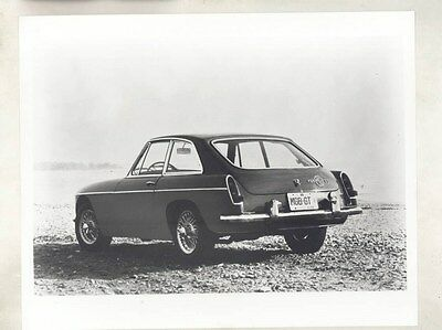 1966 MG MGB GT ORIGINAL Factory Photograph wy4184