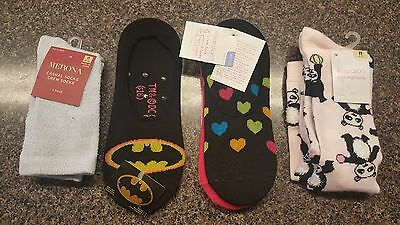 6 Pair! - Women's (4-10) Xhilaration Crew, Low-Cut & Liner Socks Variety