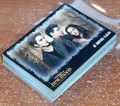 Twilight New Moon ~ LIMITED EDITION 50-Card Promo Set P1-P50 Fan Club /500
