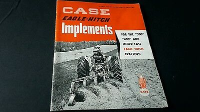 CASE Eagle Hitch Implements 300 and 400  Tractor Brochure