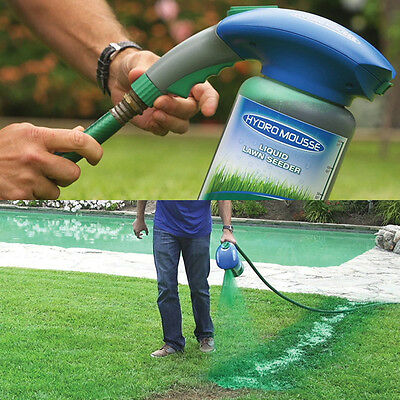 Household Hydro Seeding System Liquid Empty Spray Device For Seed Lawn