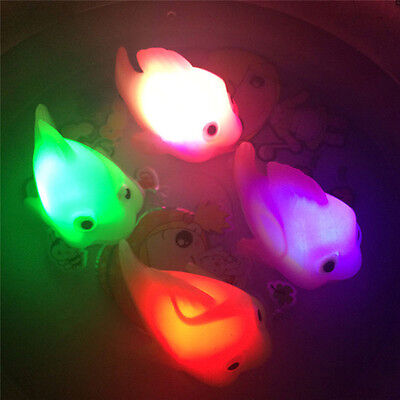 POP Bathroom LED Light Fun Kids Toys Water Induction Waterproof In Tub Bath Time