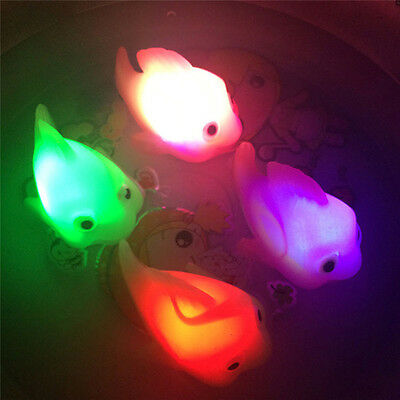 POP Bathroom LED Light Kids Toys Water Induction Waterproof In Tub Bath Time Fun