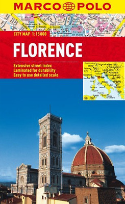 Florence Marco Polo City Map  Book New