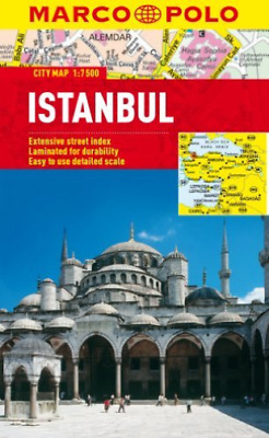 Marco Polo Travel Publishin...-Marco Polo City Map Istanbul  BOOK NEW