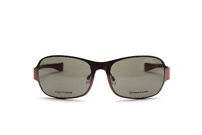Pure TITANIUM light brown sunglasses 4.9 by Gimme Glasses Switzerland  N32