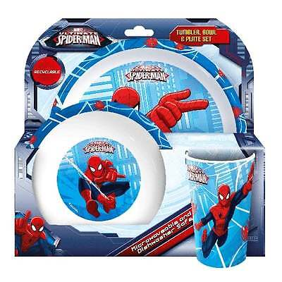 Spiderman 3PC Dinner Set