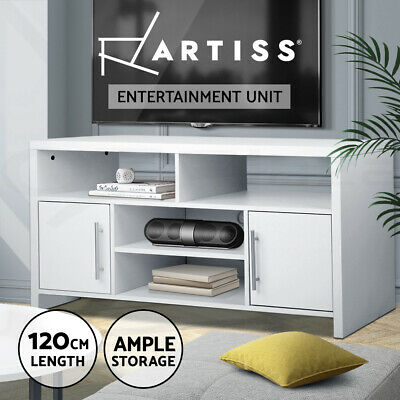 Artiss TV Stand Entertainment Side Cabinet Unit Storage Drawers Cupboard 120cm