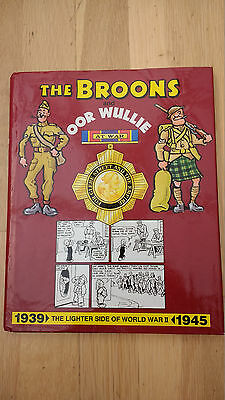 The BROONS and Oor Wullie at War Hardback Book - stories from 1939 - 1945