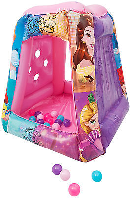 Disney Princess Tent Inflatable Ball Pool Play Pit GameToy Play House 7065