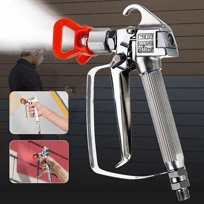 3600PSI Paint Spray Gun Airbrush High Pressure No Gas Sprayer Spraying Hine ZD