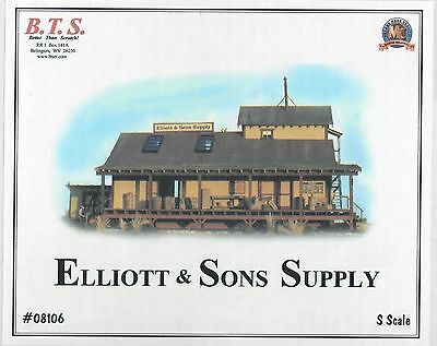 """S/SN3 Scale BTS """"Elliott and Sons Supply"""" Kit"""