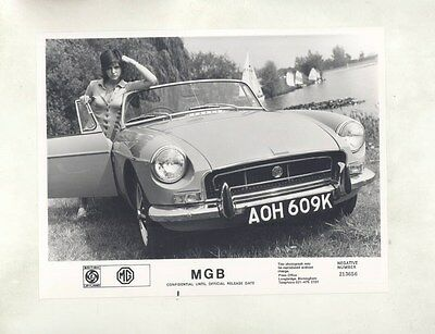 1972 MG MGB RHD ORIGINAL Factory Photograph wy4256