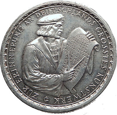 1928 Germany Weimar Republic COLOGNE CATHEDRAL Rare German Silver Medal i63492