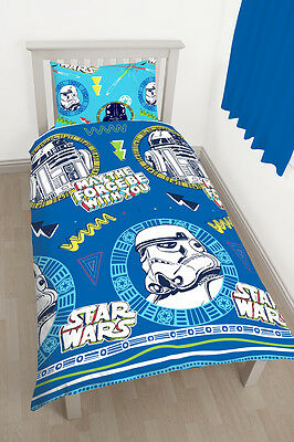 parure de lit enfant disney star wars marvel sbires ninja 135x200 ensemble set eur 16 47. Black Bedroom Furniture Sets. Home Design Ideas