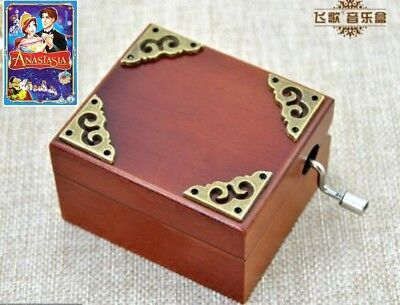 Classic Square ♫ Anastasia - Once Upon A December ♫  Hand Crank Music Box