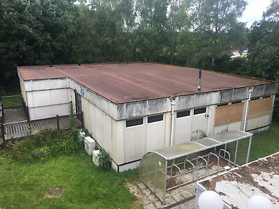 Portable office Block Container Building 2700 sq FT