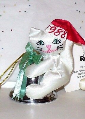 Fancy Feast 1988 Cat with Bell ornament - no box