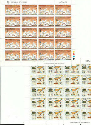 CHIPRE Cyprus EUROPA cept 1994 ** MNH Sheets