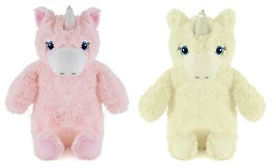 750ml Hot Water Bottle with Plush Unicorn Cover