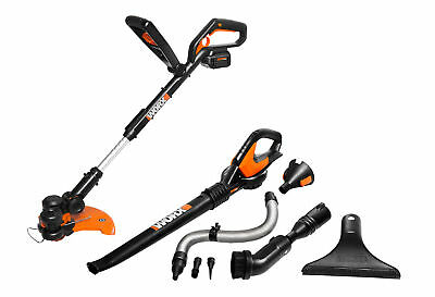 Worx Air 32V GT 2.0 Grass Trimmer and Air Blower Cordless Electric Combo Kit
