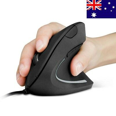 Anker Wired Vertical Ergonomic Shark Fin Style 1600DPI Optical Mouse Mice for PC