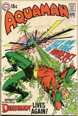 Aquaman #50 - VG - Neal Adams Art