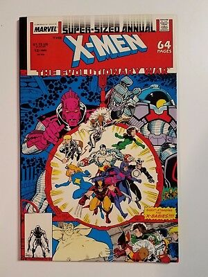 X-Men Super-Sized Annual #12 NM+ (Marvel,1988) The Evolutionary War! X-Babies!