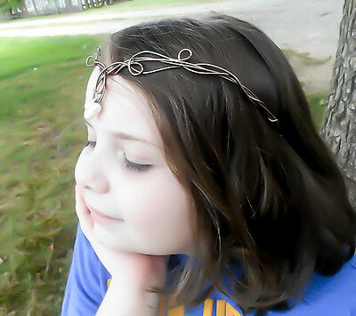 Renaissance Elven Headpiece Elven Tiara Medieval Crown Elf Circlet Queen