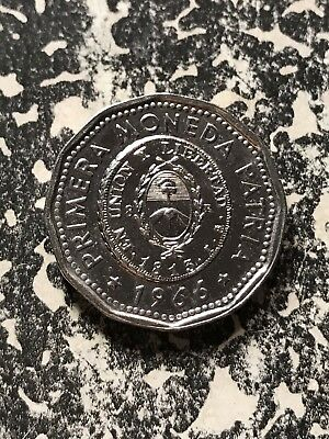 1966 Argentina 25 Pesos Lot#7716 High Grade! Beautiful!